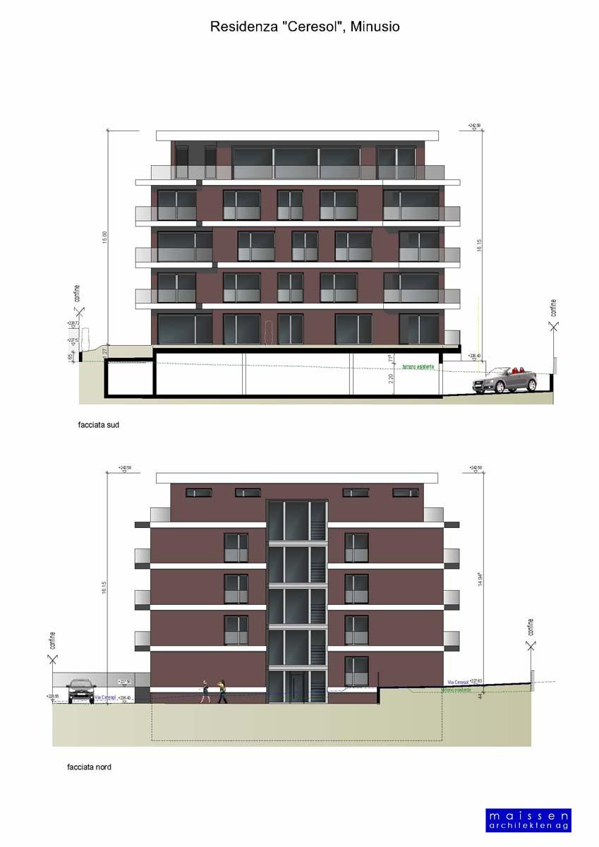 Wohnung Minusio - Architektur, Bauleitung und Bauberatung in Graubünden und im Tessin